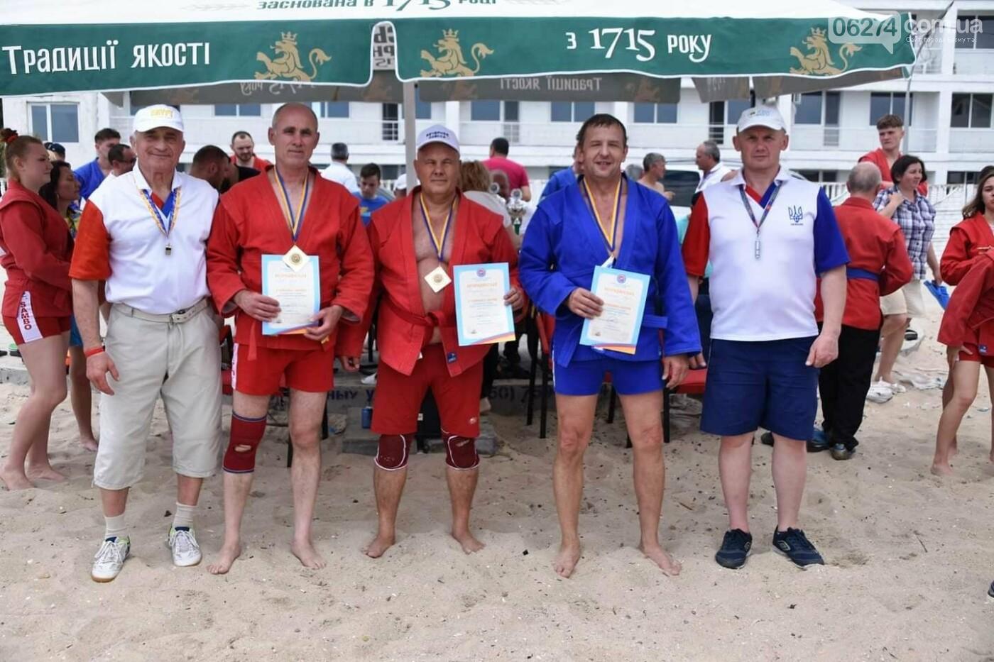 Бахмутчане успешно выступили на Чемпионате Украины по пляжному самбо, фото-4