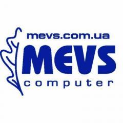 Логотип - Сеть магазинов «MEVS computer» в Бахмуте