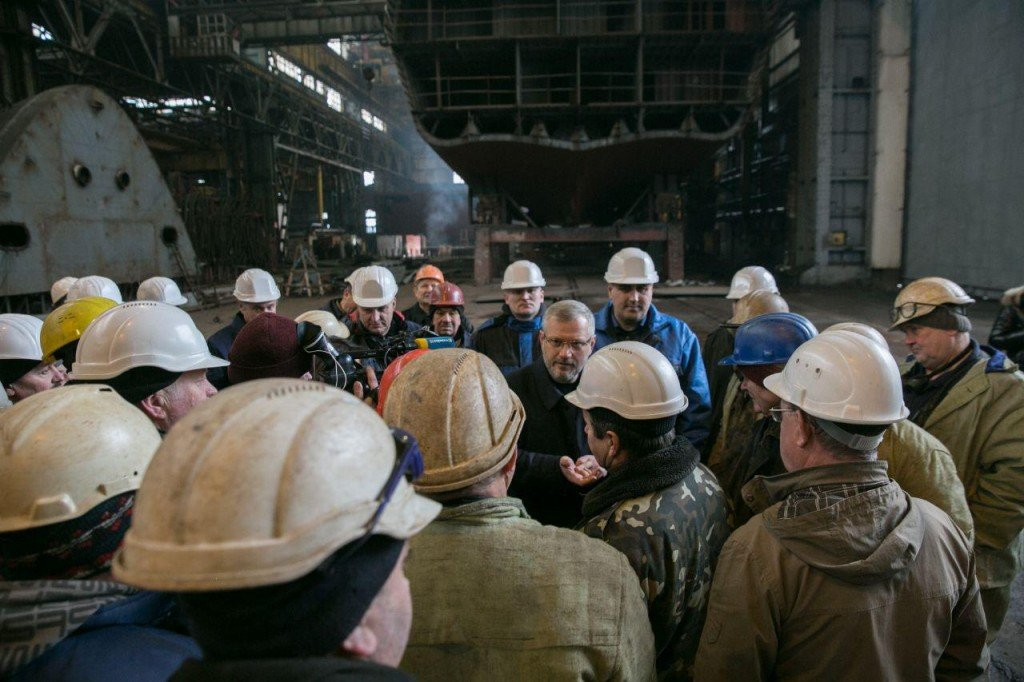 Судостроители Украины поддержали кандидата в Президенты Александра Вилкула , фото-2