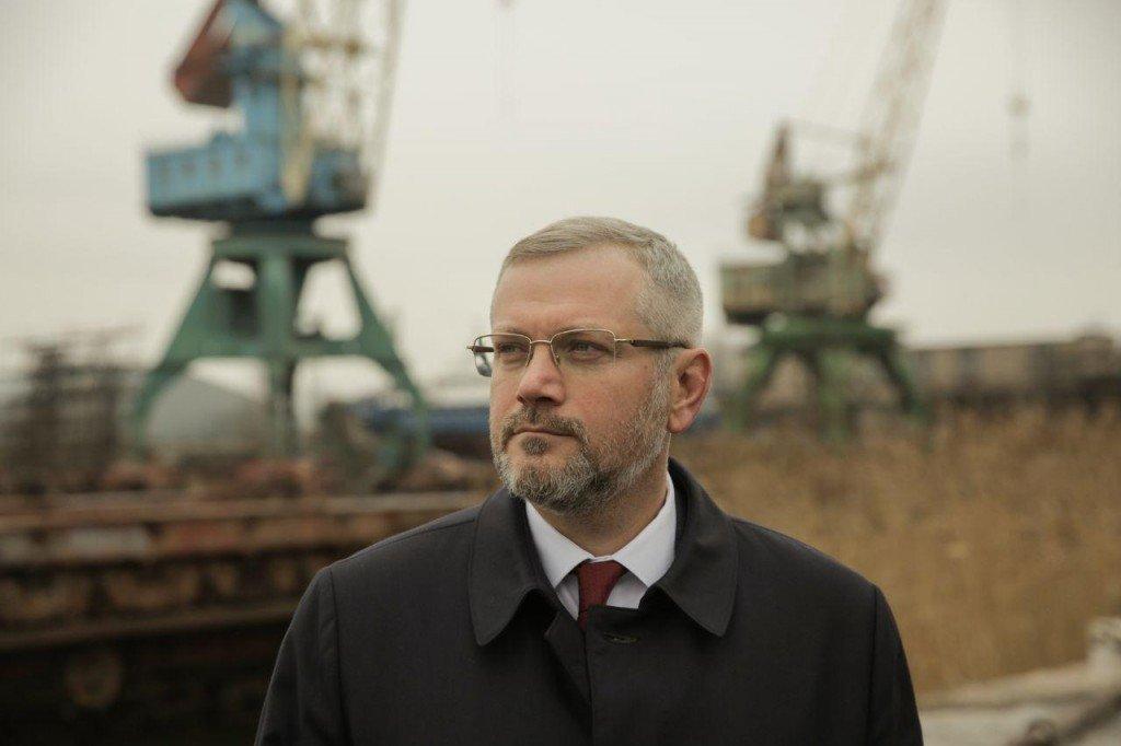 Судостроители Украины поддержали кандидата в Президенты Александра Вилкула , фото-1